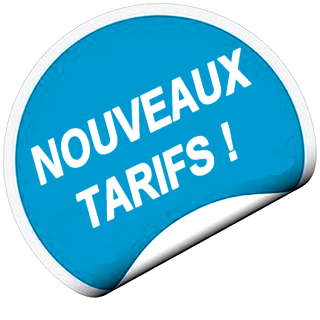 ATTENTION CHANGEMENT DE TARIF